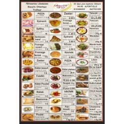 Liste des produits salées
